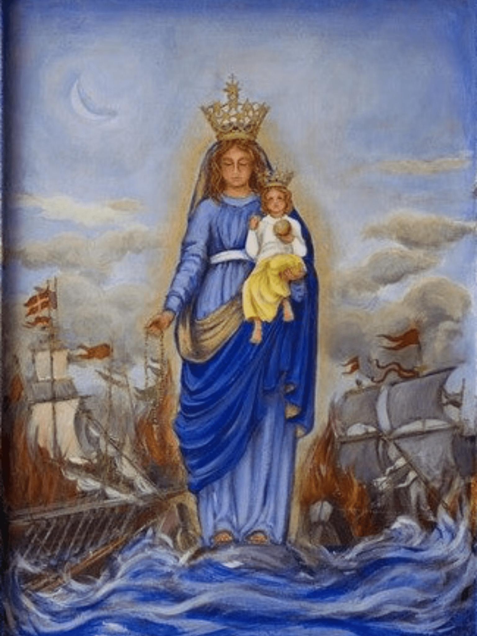 I miracoli straordinari della Vergine Maria durante la battaglia di Lepanto  - La Luce di Maria