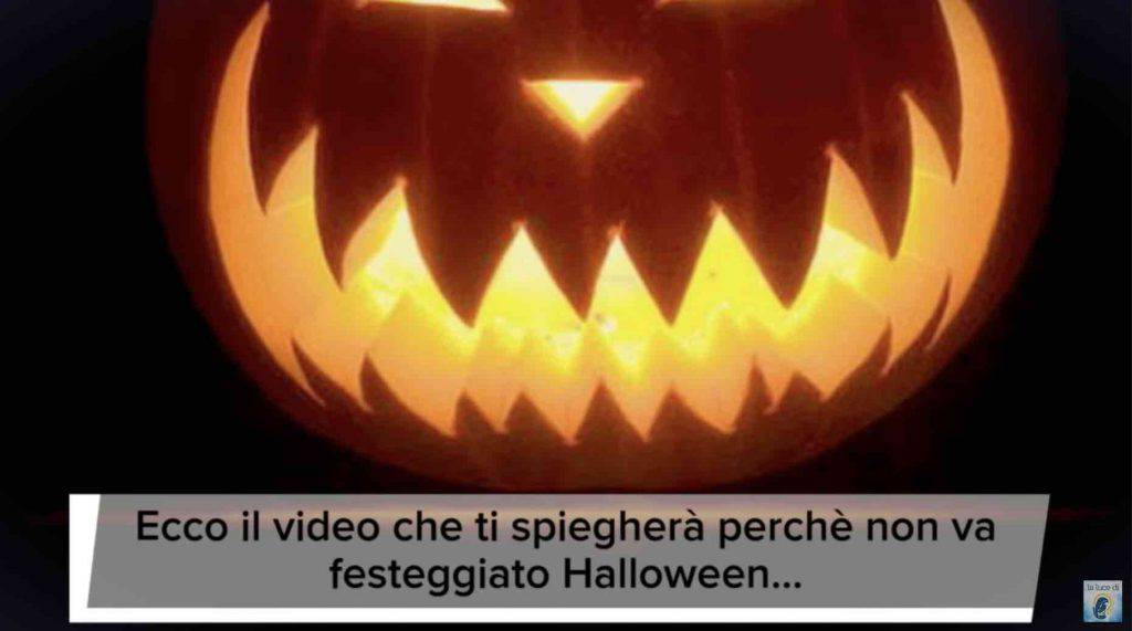 halloween video smaschera