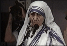Madre Teresa all'ONU