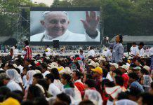 messa del Papa