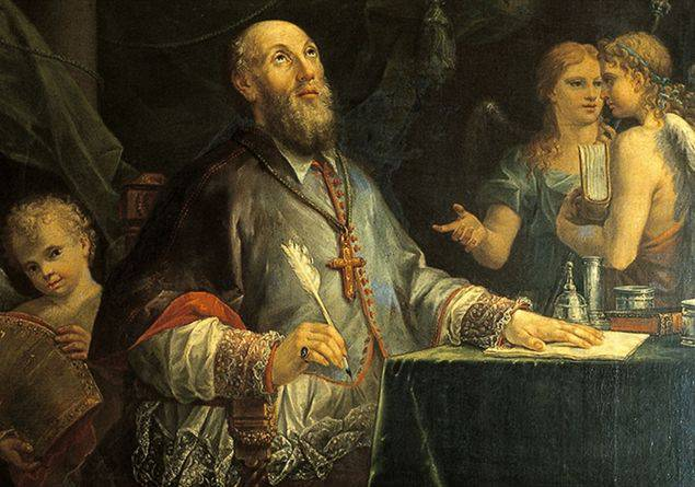 oggi 24 gennaio la chiesa ricorda San Francesco di Sales