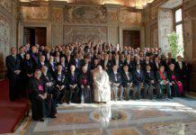 papa francesco e il corpo diplomatico