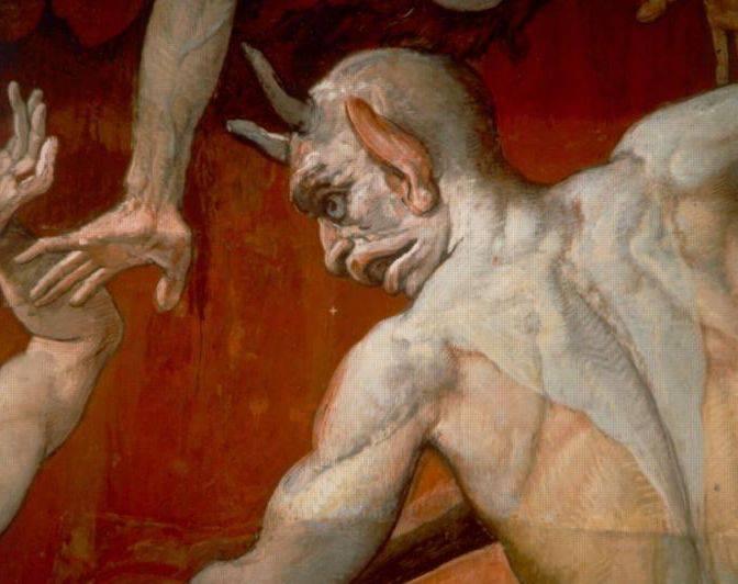 la presenza del demonio è una presenza reale