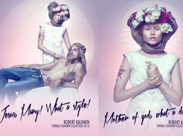 Usare Gesù e Maria in pubblicità non è reato