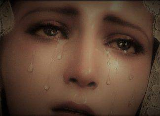 medjugorje lacrime maria