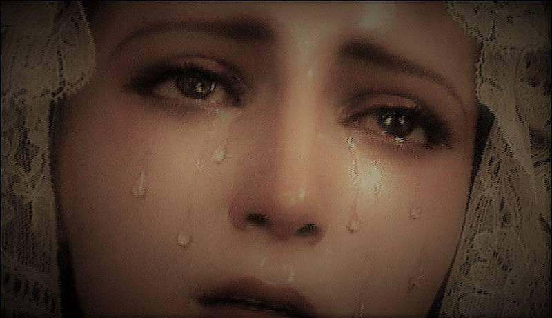 Le lacriime della madonna hanno un perchè