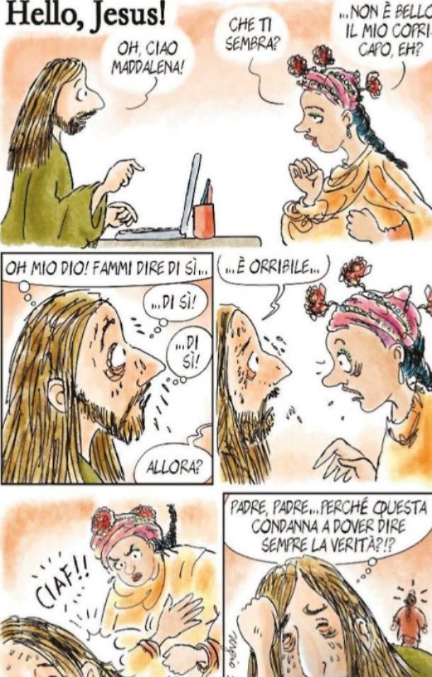 Le vignette blasfeme di staino su avvenire
