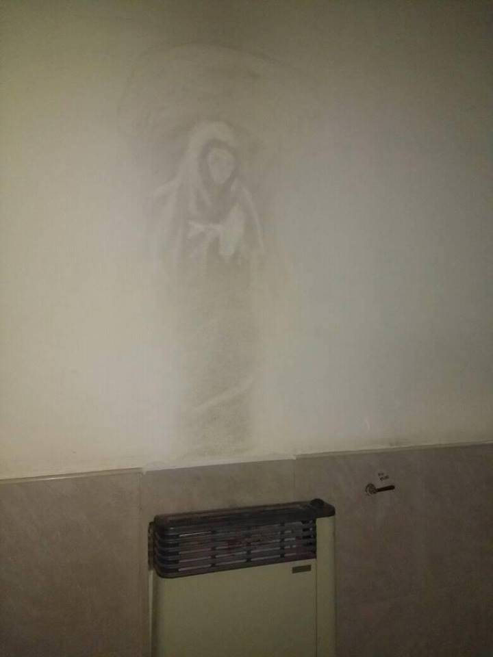 Cordoba: l'immagine della Madonna appare inspiegabilmente in ospedale