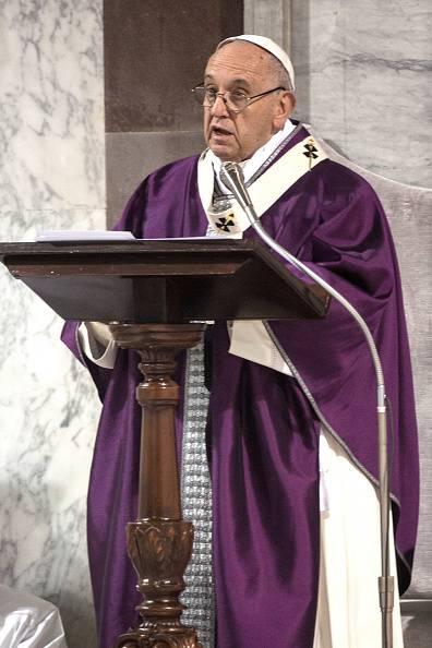 "Omelia del Santo Padre Mercoledì ""delle ceneri"" quaresima 2018"
