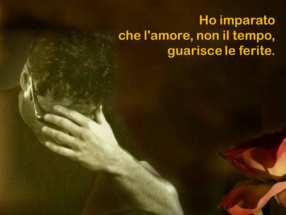 Solo l'amore può sanare le nostre ferite più profonde