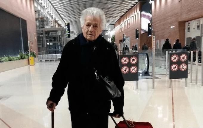 Nonna Irma, la vicentina di 93 anni che vola in Kenya per fare volontariato