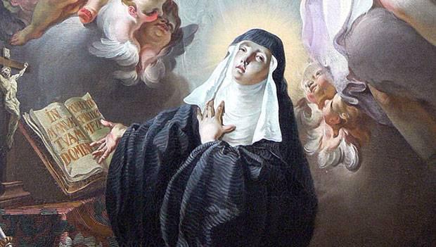 Oggi celebriamo Santa Scolastica