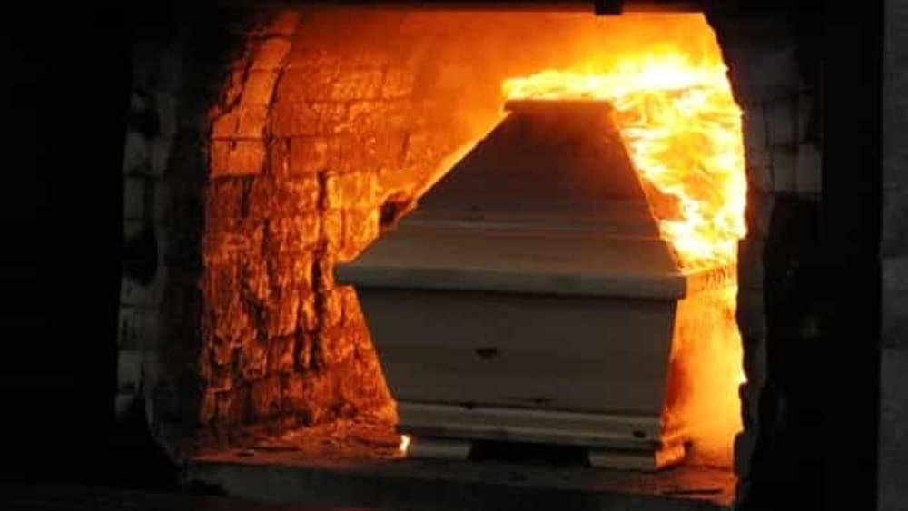 la cremazione post mortem