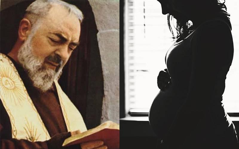 """Padre Pio: """"L'aborto? E' insieme un omicidio ed un suicidio"""""""