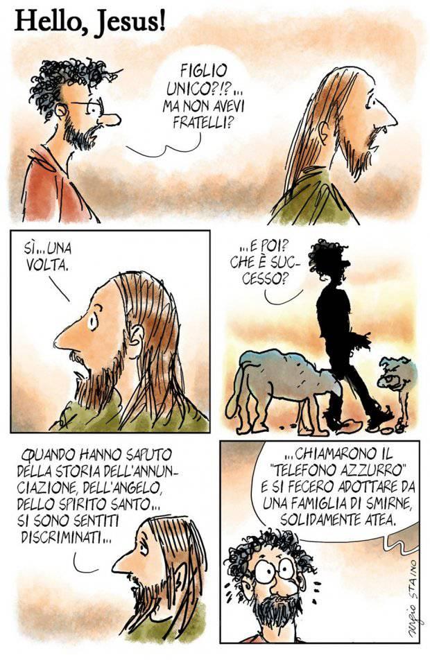 Anniversario Matrimonio Vignette.Avvenire Le Vignette Di Sergio Staino Che Puzzano Di Zolfo