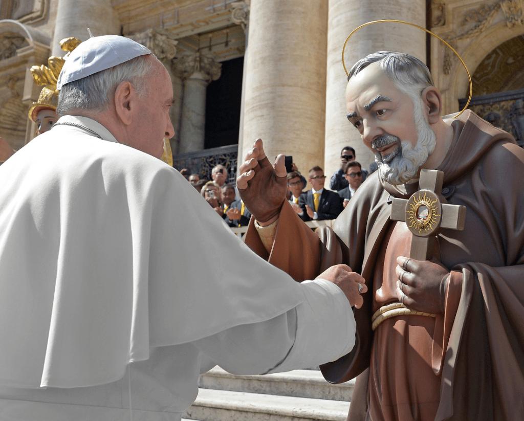 Papa Francesco renderà omaggio a padre Pio nel 50° anniversario della morte