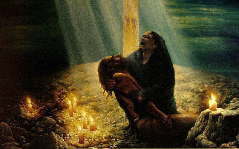 Cosa ha pensato la Madonna mentre Gesù veniva crocifisso?