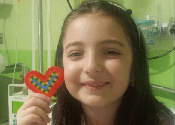 Giulia si ammala dopo un escursione, si tratta di leucemia linfoblastica acuta
