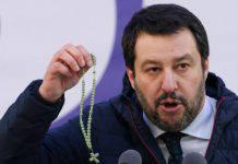 matteo salvini rosario vangelo