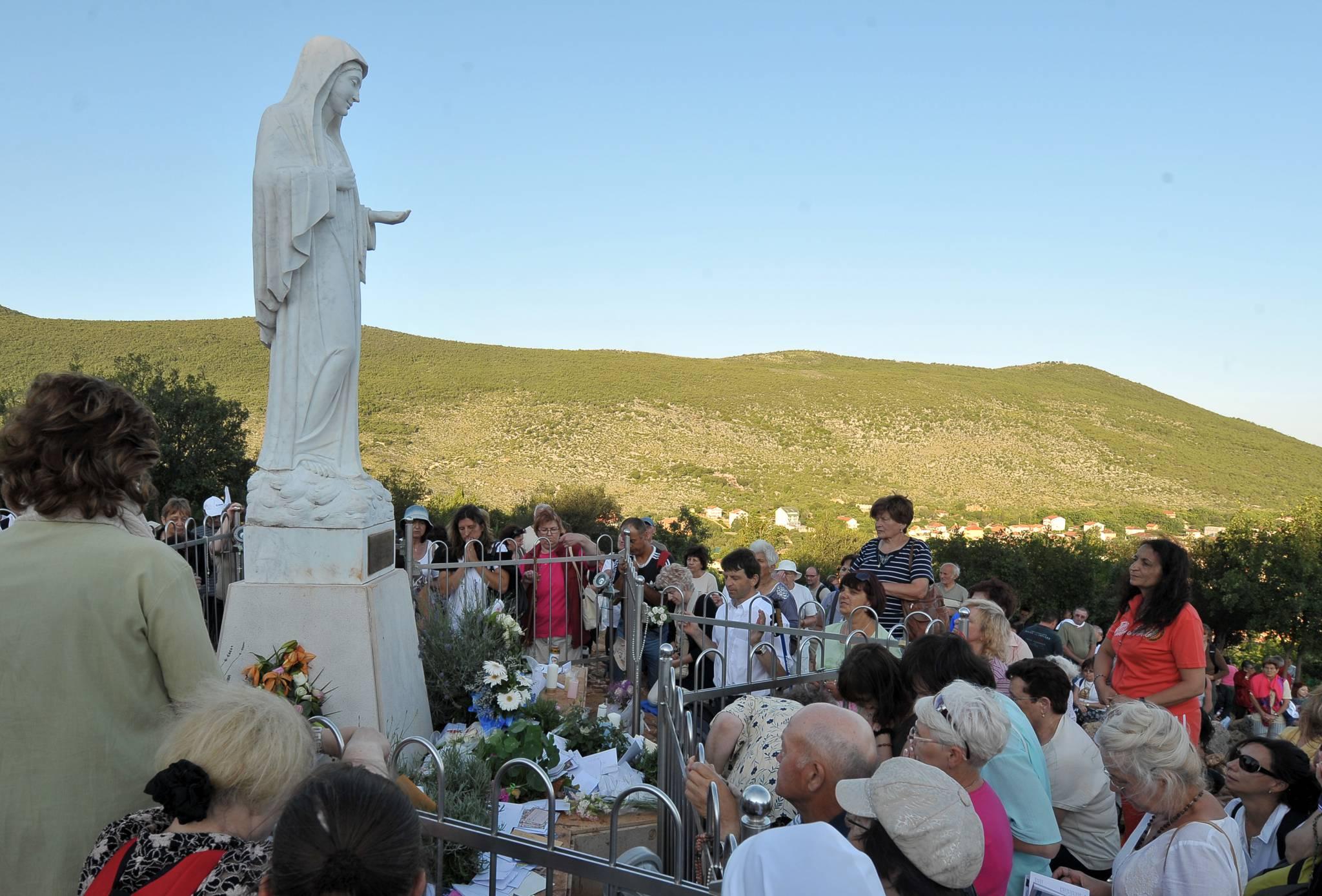 Diana Basile: un miracolo avvenuto a Medjugorje