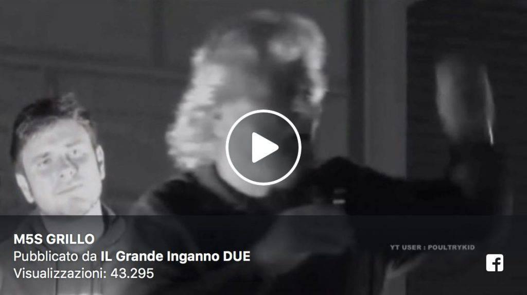 Beppe Grillo Lapsus Video