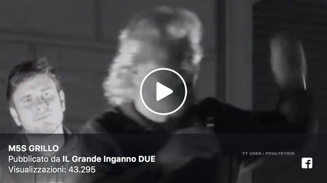 Beppe Grillo Lapsus Video