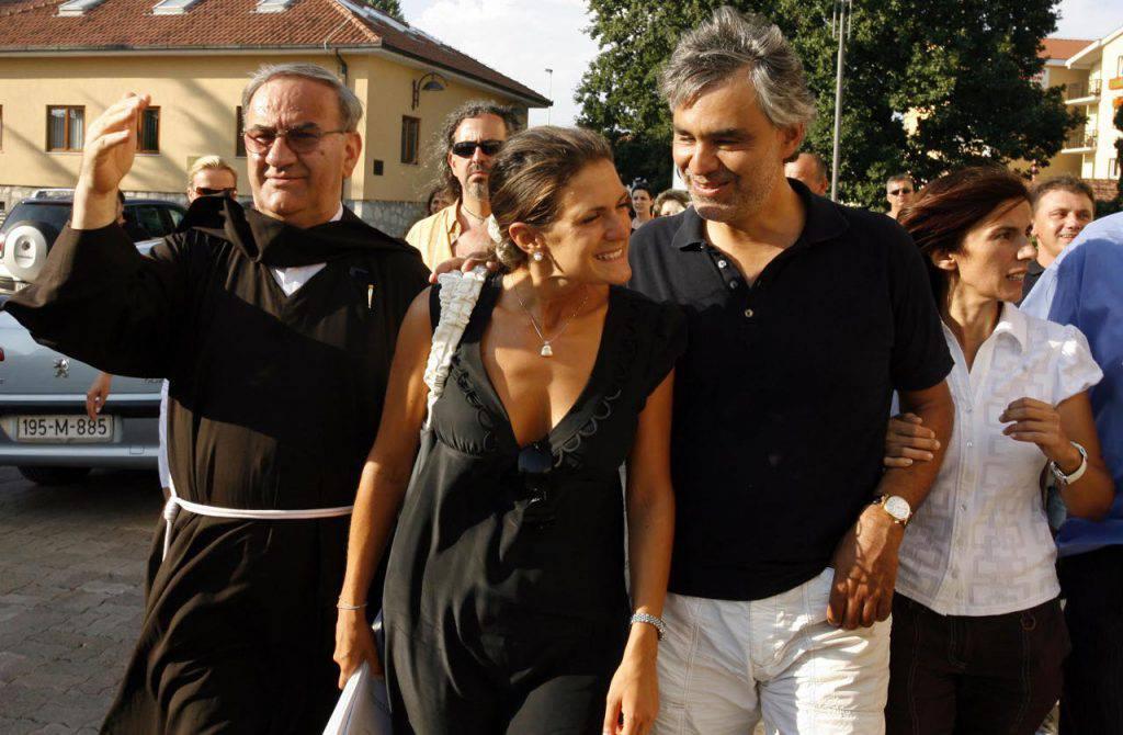 """Bocelli visita Medjugorje: """"Sono qui per ricevere un messaggio"""""""
