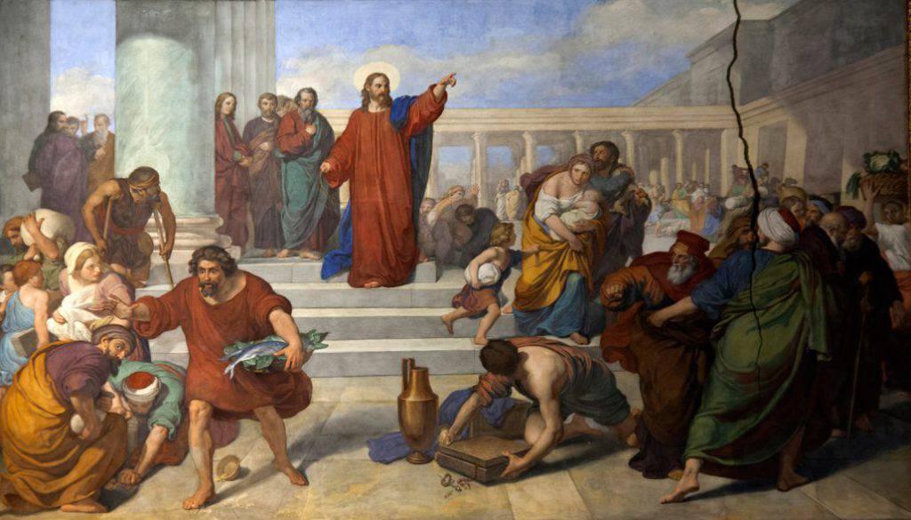 vangelo del giorno secondo Giovanni2,13-25.