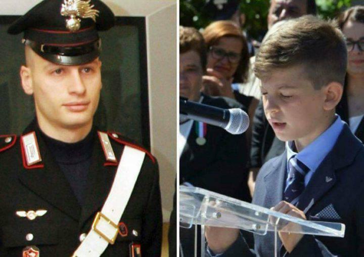 """Il figlio di un carabiniere ucciso scrive alla maestra di Torino: """"Le parole feriscono come un proiettile"""""""