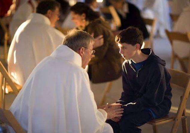 In assenza di peccati gravi la confessione ci permette di amare maggiormente