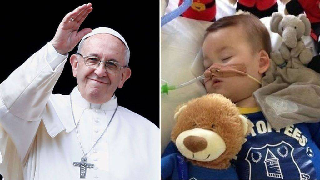 "Papa Francesco risponde all'appello del padre di Alfie Evans: ""Prego per voi"""