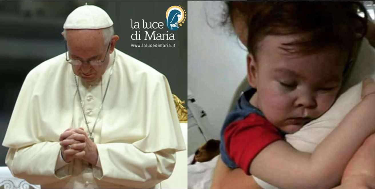 Morte di Alfie parole del Papa