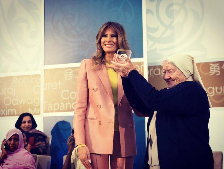 Gli Stati Uniti premiano Suor Maria Elena per il suo coraggio