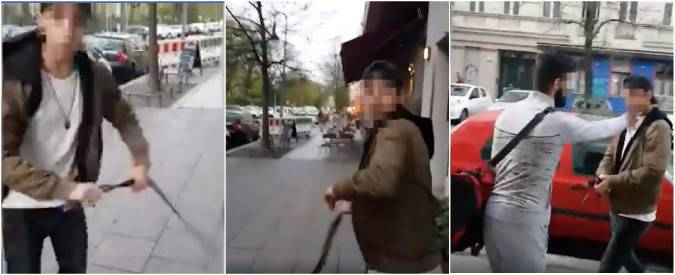 Berlino: azione antisemita da un musulmano