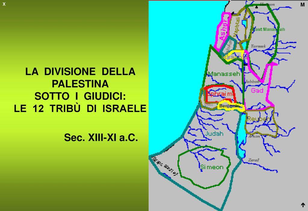 Le 12 tribù d'Israele
