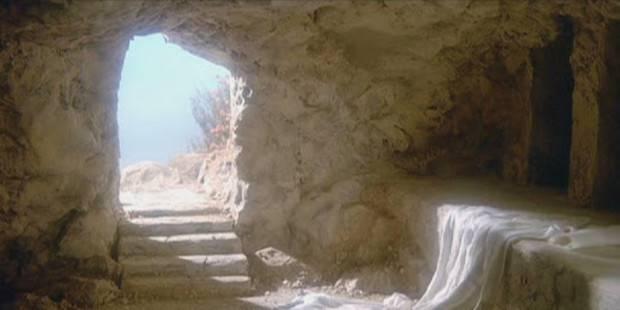 Resurrezione: perché Gesù piega il panno di lino che gli copre il volto?