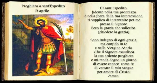 Novena a Sant'Espedito. Terzo giorno
