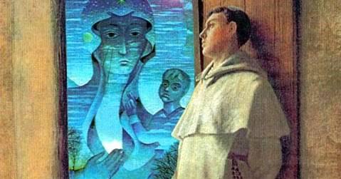 Le 15 promesse del Santo Rosario, date ad Alano de la Roche