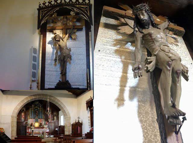 Conoscete la storia del Cristo dal braccio schiodato?