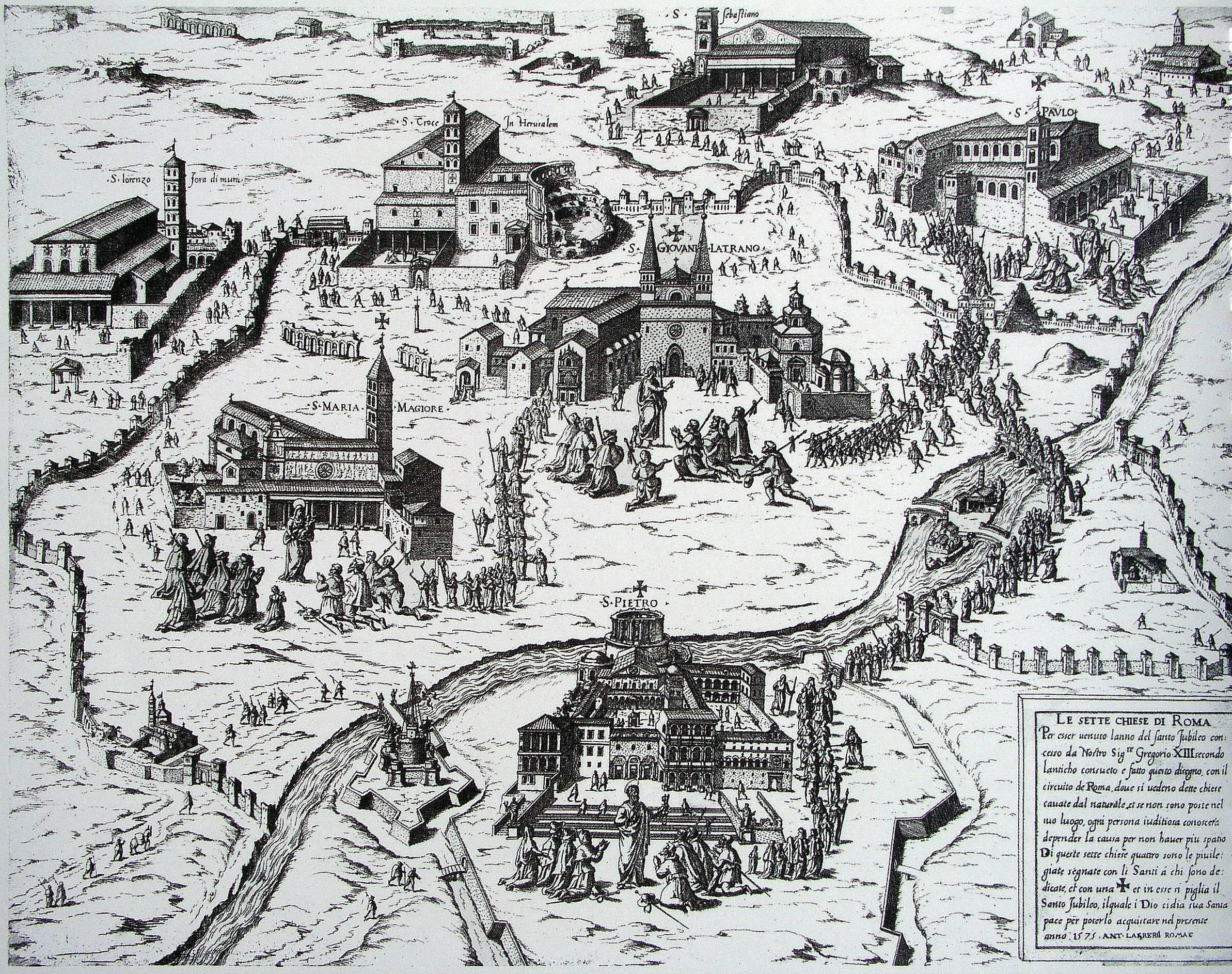 Sapete chi diffuse il pellegrinaggio delle Sette Chiese di Roma?