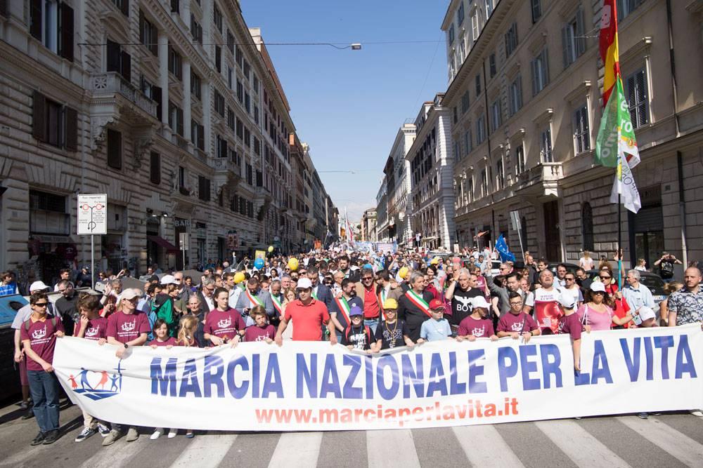Marcia per la Vita 2018: Roma è stata inondata da un fiume pro life