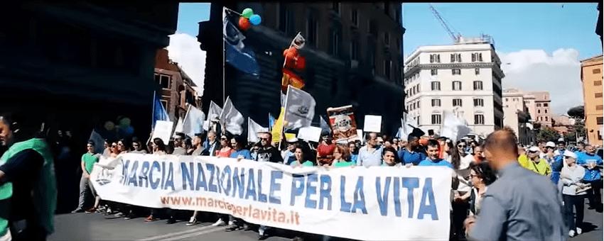 Roma: il prossimo 19 maggio i cittadini scendono in piazza per la Marcia per la Vita 2018