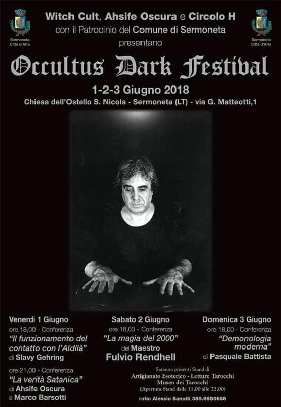 A Sermoneta l'Occultus Dark Festival, prima edizione!