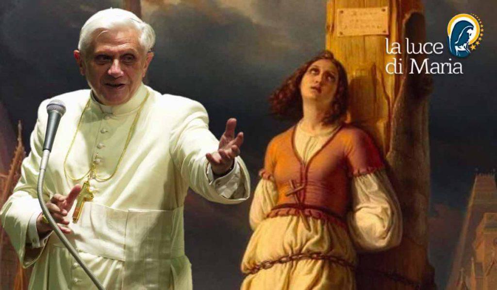 Santa Giovanna d'Arco Benedetto XVI