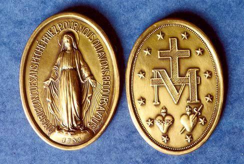 I motivi per indossare la medaglia miracolosa di Caterina Labouré