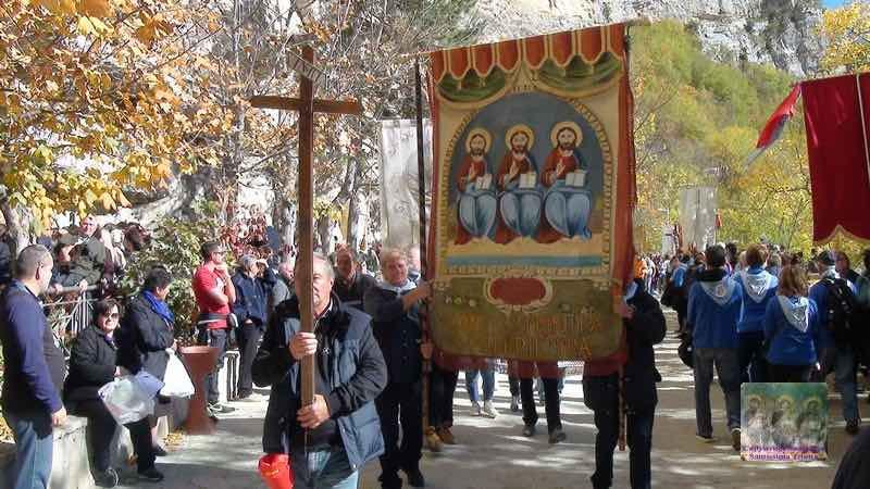 SS Trinità festa Vallepietra