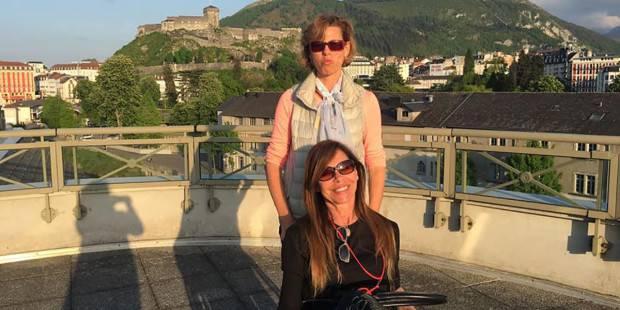 "Patrizia e Roberta, una è cieca e l'altra non cammina: ""A Lourdes per dire grazie"""