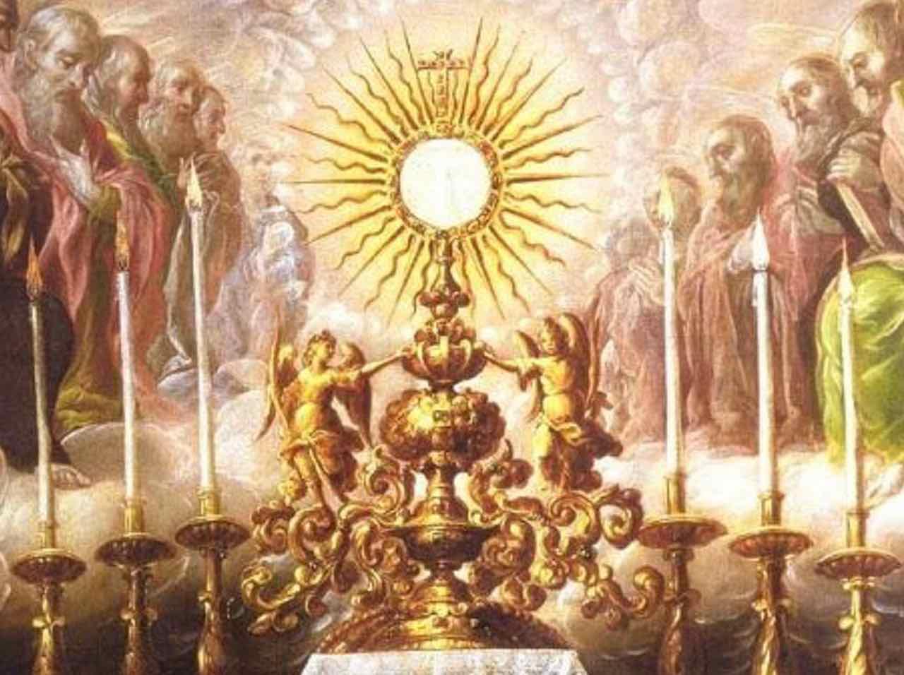 Vangelo di oggi 3 giugno 2018 Domenica del Corpus Domini - I settimana del salterio - ANNO B