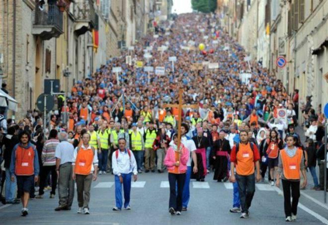Domani pellegrinaggio a piedi Macerata-Loreto