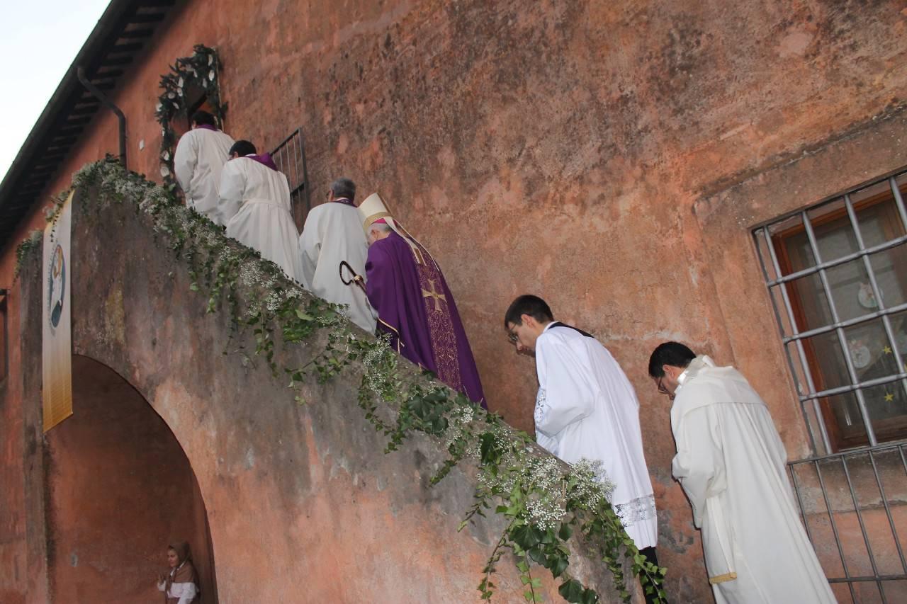 A Borgo Le Ferriere è avvenuto l'ultimo miracolo di Santa Maria Goretti